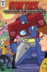IDW Publishing's Star Trek vs Transformers Issue # 2ri