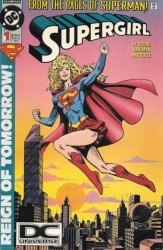 DC Comics's Supergirl Issue # 1b