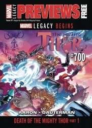 Marvel Comics's Marvel Previews Issue # 1