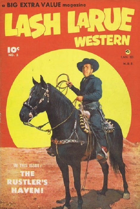 Lash Larue Western Issue 3 Bell Features