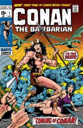 Marvel Comics's Conan the Barbarian: Original Marvel Years Omnibus  Hard Cover # 1b