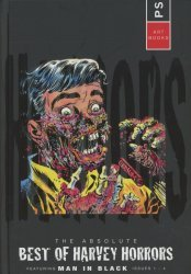 PS Artbooks's Absolute Best Of Harvey Horrors Featuring Man In Black Hard Cover # 1