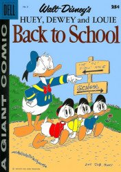 Dell Publishing Co.'s Huey, Dewey & Louie: Back to School Issue # 2