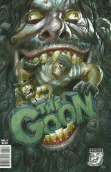 Albatross Exploding Funny Book's The Goon Issue # 4