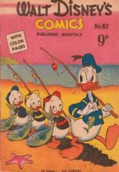 W.G.(Wogan)Publications's Walt Disney's Comics Issue # 62