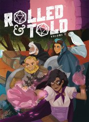 Lion Forge Comics's Rolled & Told Hard Cover # 2