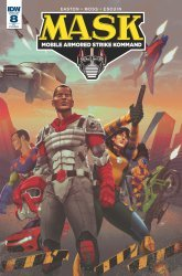 IDW Publishing's M.A.S.K.: Mobile Armored Strike Kommand Issue # 8ri