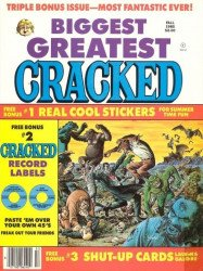 Major Magazines's Biggest Greatest Cracked Issue # 20