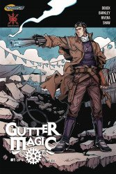 Source Point Press's Gutter Magic Issue # 1