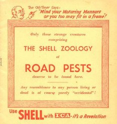 Shell's Shell Zoology of Road Pests Issue nn