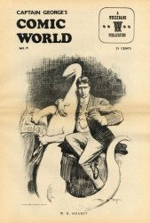 Memory Lane Publications's Captain George's Comic World Issue # 19
