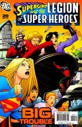 DC Comics's Supergirl and the Legion of Super-Heroes Issue # 20