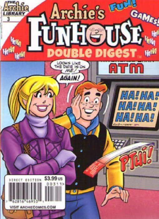 archies funhouse comics digest