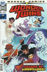 DC Comics's Wonder Twins Issue # 5