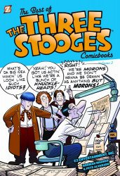 Papercutz's Best of the Three Stooges Soft Cover # 2