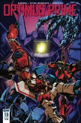 IDW Publishing's Optimus Prime Issue # 19