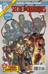 Marvel Comics's Secret Warriors Issue # 2b