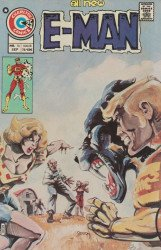 Charlton Comics's E-Man Issue # 10