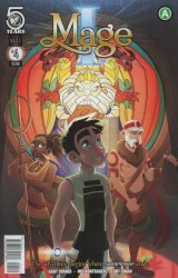 Action Lab Entertainment's I, Mage Issue # 4