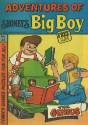 Paragon Products's Adventures of Shoney's Big Boy Issue # 43
