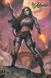 Coffin Comics's La Muerta: Retaliation Issue # 1c