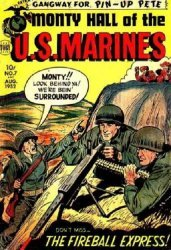 Toby Press's Monty Hall of the U.S. Marines Issue # 7