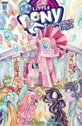 IDW Publishing's My Little Pony: Friendship is Magic Issue # 51sub