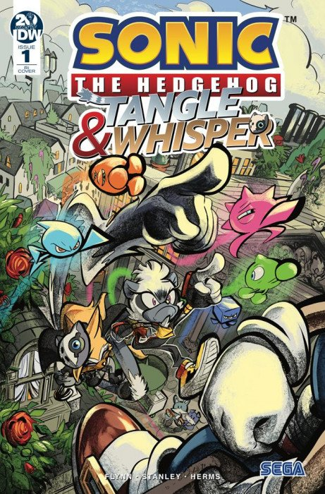 Sonic The Hedgehog Tangle Whisper Issue 2 Idw Publishing