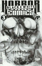Antarctic Press's Horror Comics: Black And White Issue # 3