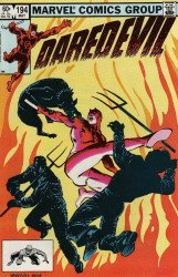 Marvel Comics's Daredevil Issue # 194
