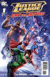 DC Comics's Justice League: Cry for Justice Issue # 1b