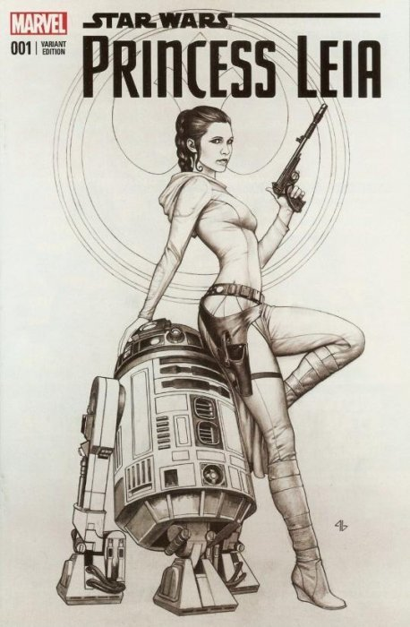 Star wars princess leia comic