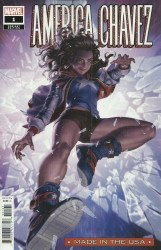 Marvel Comics's America Chavez: Made in the USA Issue # 1d