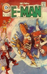 Charlton Comics's E-Man Issue # 9
