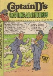 Paragon Products's Captain D's Exciting Adventures Issue # 29