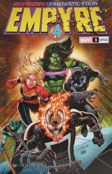 Marvel Comics's Empyre Issue # 1walmart