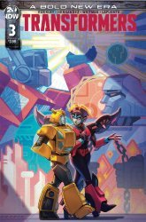 IDW Publishing's Transformers Issue # 3b