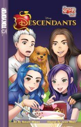 Tokyo Pop/Mixx's Disney Descendants Manga Soft Cover # 2