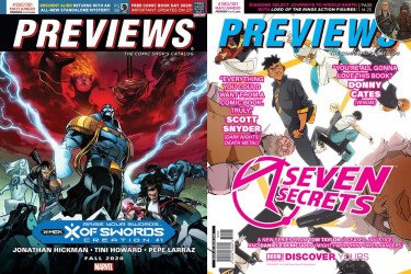 Diamond Comics Distribution's Previews Issue # 380/381
