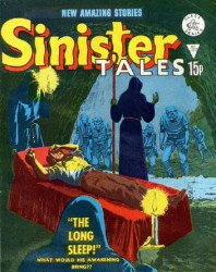 Alan Class & Company's Sinister Tales Issue # 150