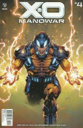 Valiant Entertainment's X-O Manowar Issue # 4c