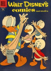 Dell Publishing Co.'s Walt Disney's Comics and Stories Issue # 206b