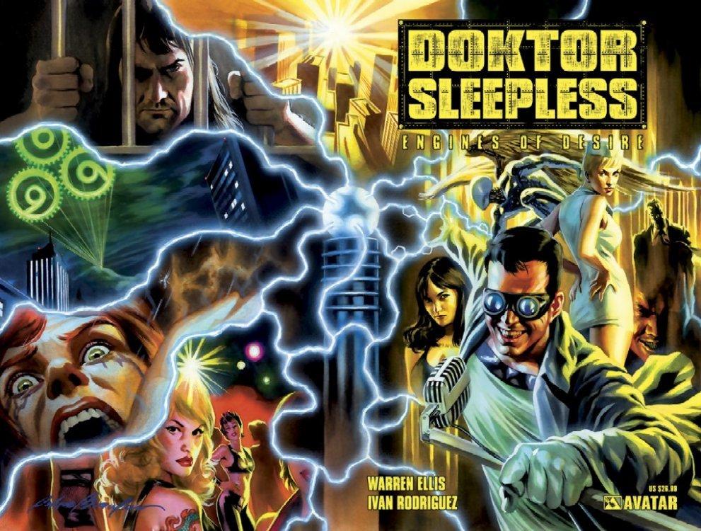 Avatar Presss Doktor Sleepless TPB 1