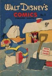 W.G.(Wogan)Publications's Walt Disney's Comics Issue # 71