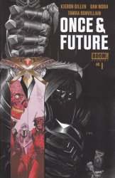 BOOM! Studios's Once & Future Issue # 1 - 8th print