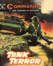 D.C. Thomson & Co.'s Commando: War Stories in Pictures Issue # 1161