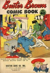 Buster Brown Shoes's Buster Brown Comics Issue # 40boston