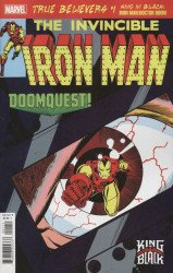 Marvel Comics's True Believers: King in Black - Iron Man / Doctor Doom Issue # 1