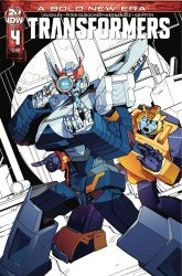 IDW Publishing's Transformers Issue # 4 - 2nd print