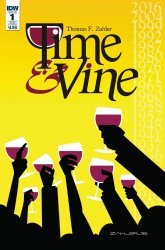 IDW Publishing's Time & Vine Issue # 1sub